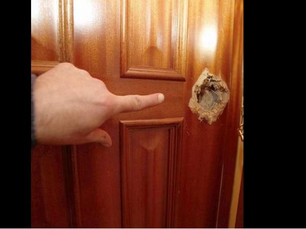Arreglo puertas de madera materiales de construcci n - Como arreglar puertas de madera rayadas ...